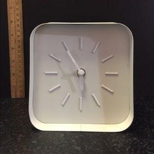 "Home Sense Clock White 6"" Workspace"